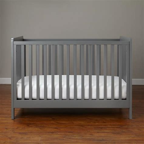 elsie spindle crib eleven affordable grey cribs the inspired hive