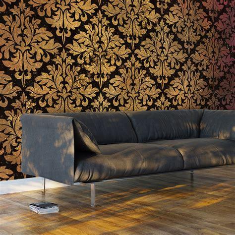 3d Wallpaper Deco by Wallpaper Golden Baroque 3d Wallpaper Murals Uk