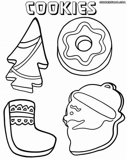 Cookies Coloring Pages Sheet