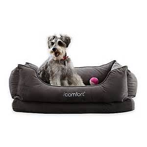 buy serta 174 icomfort 174 cuddler medium pet bed in grey from bed bath beyond