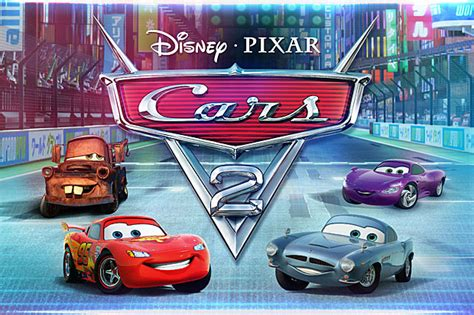 Take Five A Day Blog Archive Disney Pixar Cars 2 The