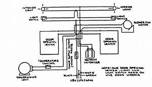 Wiring Diagram All Forced Air Refrigerators