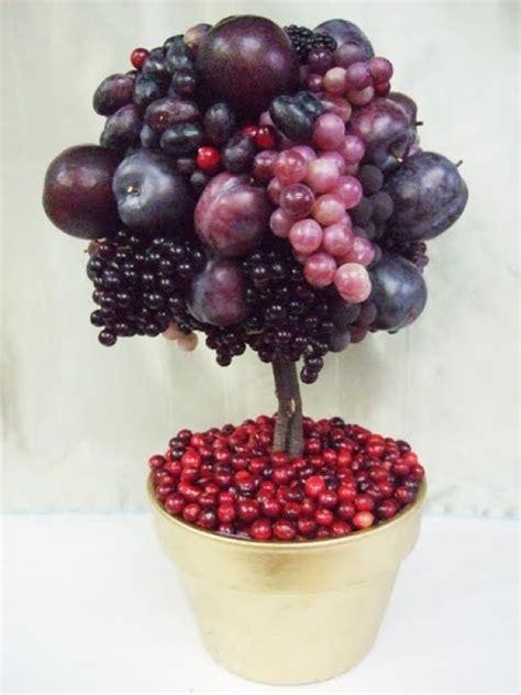Diy Thanksgiving Fruit Topiary Prestonbaileycom