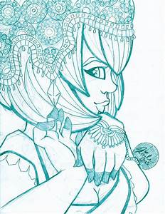 The Apsara - Sketch by nicole-m-scott on deviantART