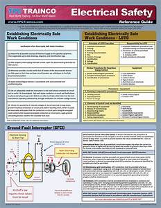Electrical Safety Quick Reference Guide  U2013 Tpc Bookstore