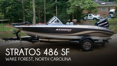 Used Stratos Boats For Sale In Nc by Stratos 486 Ski N Fish Boats For Sale Boats