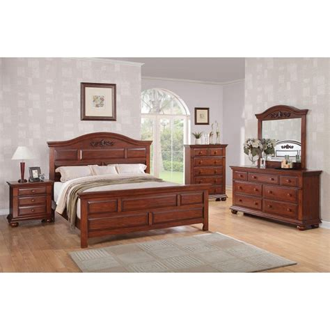 bedroom furniture sets montana cherry 6 bedroom set 14301