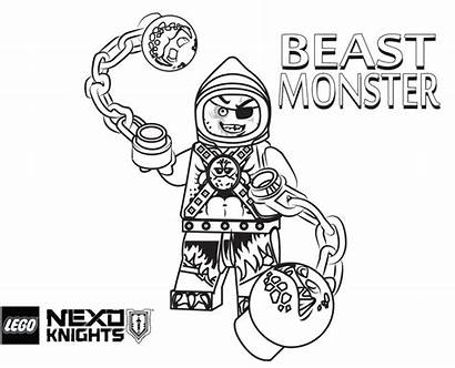 Roblox Coloring Pages Printable Knights Lego Nexo