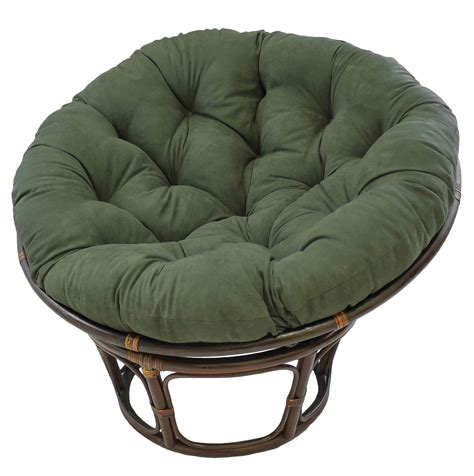 rattan papasan chair with cushion home design ideas