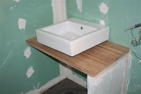 faire un meuble de cuisine hauteur meuble salle de bain
