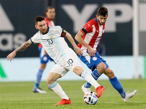 Argentina vs Paraguay: Lionel Messi goal disallowed in ...