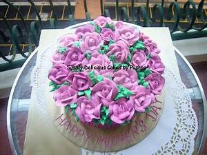 SIMPLY DELICIOUS CAKES: Mother's Day Cakes - ROSE FILLED CAKE