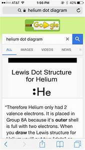 What Is The Lewis Dot Structure Of Helium