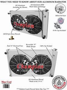 3 Row Wr Radiator 19x28 U0026quot  14 U0026quot  Fans Shroud