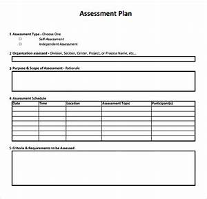 10 sample assessment templates sample templates With needs assessment proposal template