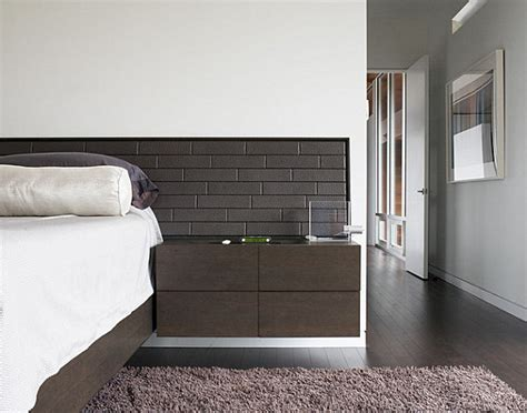 wall mounted nightstand 20 chic modern nightstands for a contemporary bedroom