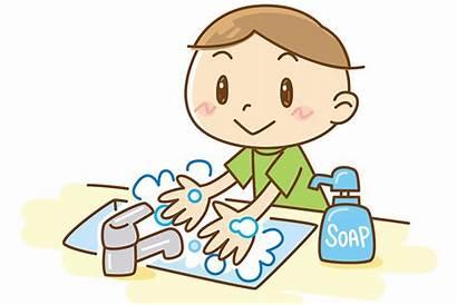 Washing Hands Wash Clipart Clip Soap Transparent