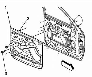 I Have A 2002 Chevy Tahoe  How Do You Remove The Door Panel