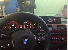 BMW F30 3 series Spotted in the Wild Wearing Fully Digital