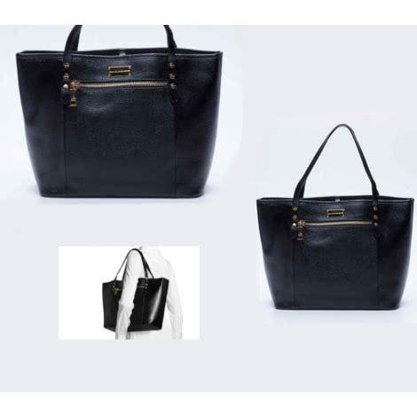 jean louis scherrer bags leather oversize bag jean louis scherrer black 4424461