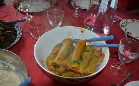 cuisine liban courgettes farcies recette libanaise mouna cuisine
