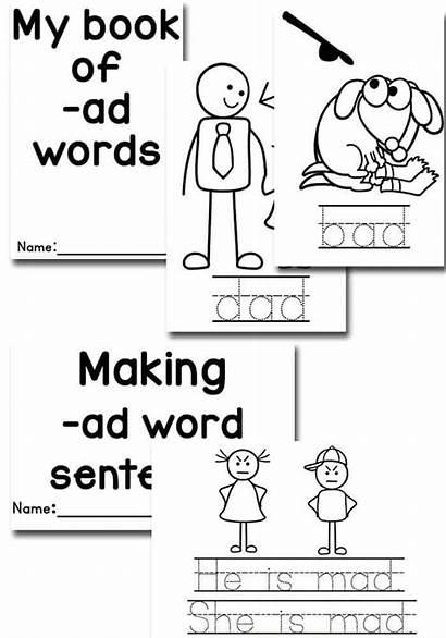 Word Ad Cvc Activities Sort Words Tracing