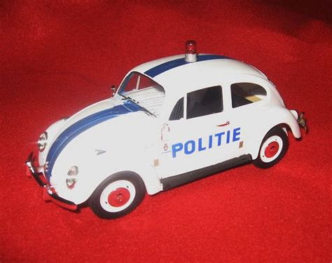 Volkswagen Beetle Type 1 Police Car
