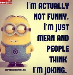 Minion Funny Sarcastic Quotes