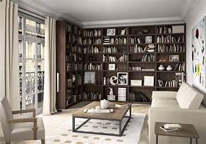 Aménagement Bibliothèque : am nagement biblioth que mode d emploi mission maison ~ Carolinahurricanesstore.com Idées de Décoration