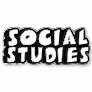 Social Studies Word School Pin | PinMart