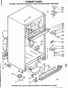 Kenmore 1068732920 Refrigerator Parts