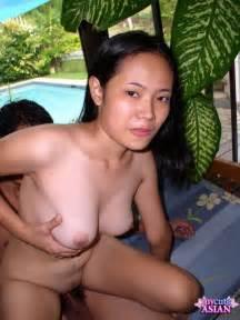Couple Having Sex On A Terrace ⬅ Asian Porn Photos