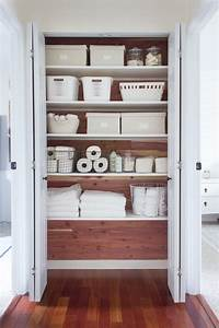 Genius Linen Closet Ideas For Organization And Beautification
