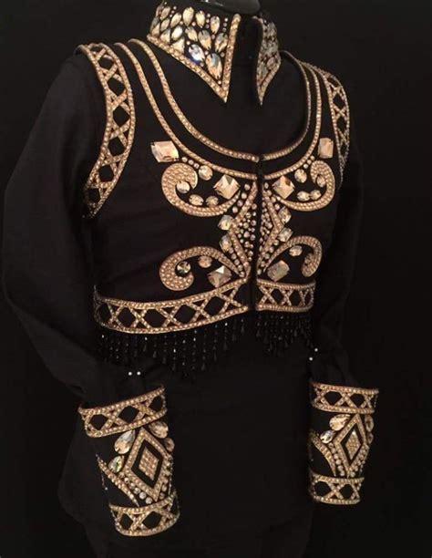 bolero horse jacket showmanship clothes western hobby jackets