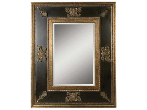 Uttermost Wall by Uttermost Cadence 60 X 48 Antique Gold Wall Mirror Ut11173b