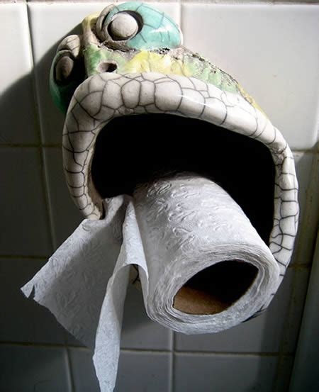 funny unusual toilet paper holder kerala home design