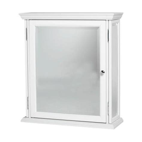 Mirror Medicine Cabinet Home Depot by View Mirrored Medicine Cabinet In White Ww2427hd At The