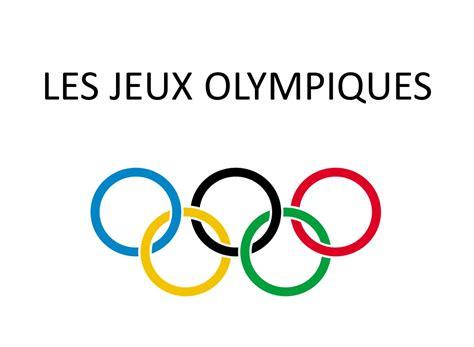 les jeux olympiques ppt t 233 l 233 charger