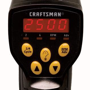 craftsman timing light professional digital timing light read it right with sears