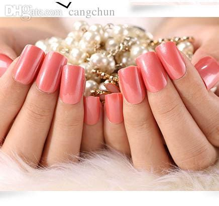 acrylic nails solid color wholesale solid color false nails nail tips design