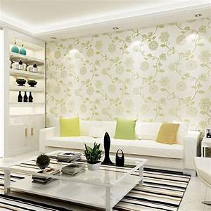 Free-shipping Embossed 3d Flower Wallpaper for Walls Pink