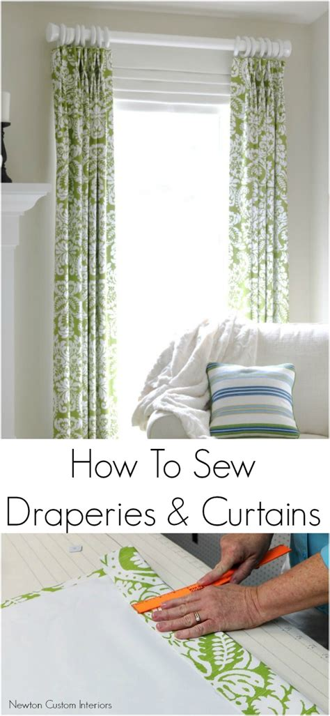 how to sew curtains how to sew draperies curtains newton custom interiors