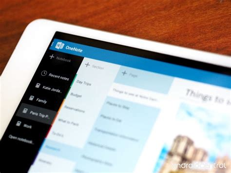 onenote app for android onenote app for android updated with tablet support