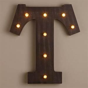 letter t led battery operated marquee light world market With battery operated marquee letter lights