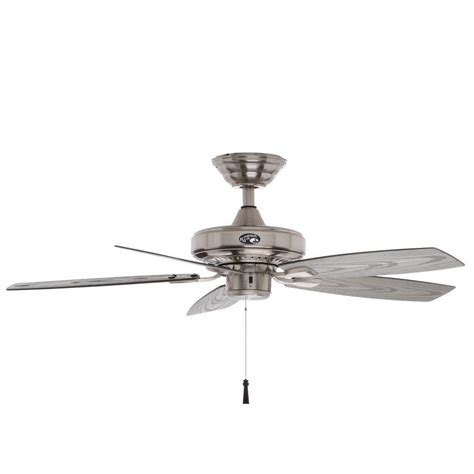 lightweight gazebo ceiling fan hton bay gazebo ii 42 in indoor outdoor brushed nickel