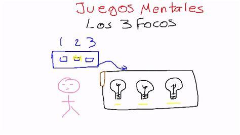 Aprende y pon a prueba tus habilidades en matemáticas. Juegos Mentales - Los Tres Focos - YouTube