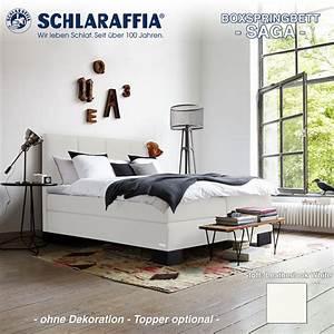 Schlaraffia Saga Boxspringbett : schlaraffia boxspringbett saga 200x200 cm boxspringbetten ~ Markanthonyermac.com Haus und Dekorationen