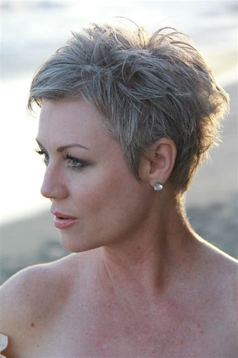 Pixie Hairstyles For Grey Hair by 30 Easy Hairstyles For 50 Hair