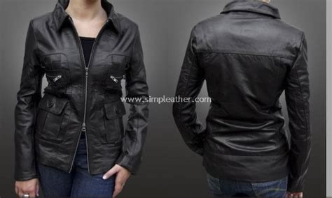 jaket kulit wanita formal jasblazer model wz