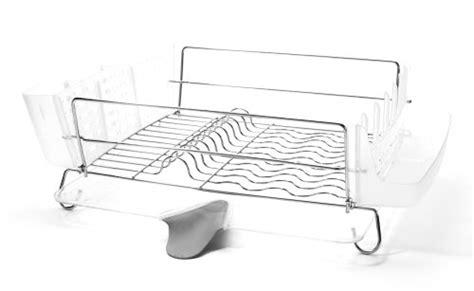 folding dish rack oxo grips folding stainless steel dish rack import